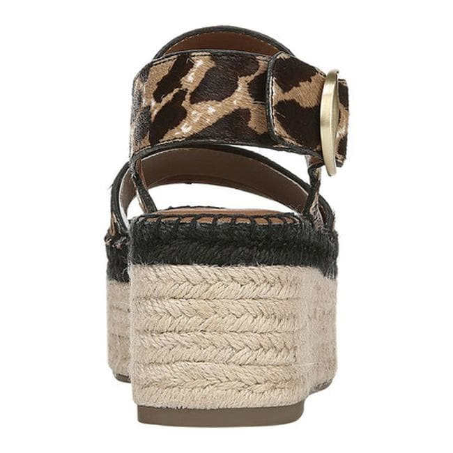 16463079bf Shop Sarto by Franco Sarto Women's Mariana Espadrille Sandal Vintage Leopard  Smokey Leopard Hair Calf - On Sale - Free Shipping Today - Overstock -  25753235