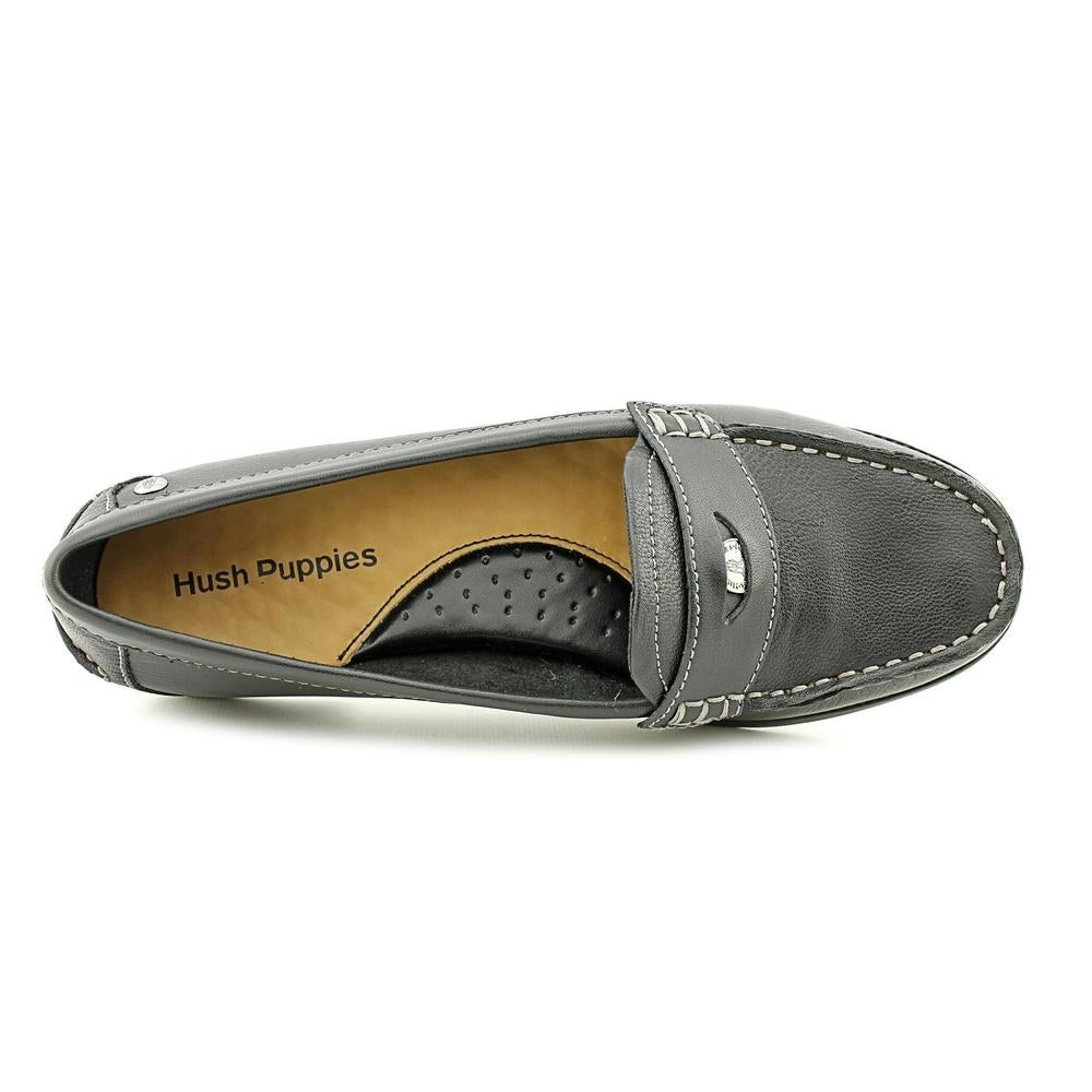1ae5394c990 Shop Hush Puppies Iris Sloan Womens Black Flats - Free Shipping On Orders  Over  45 - Overstock - 13629181