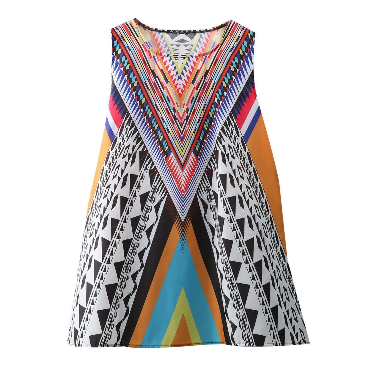 0f6d766d16 Shop 3D Vintage Print Summer Dress Bohemian Beach Dress Summer Sundresses  Women Dresses Dashiki Hippie Boho Vestidos Plus Size - On Sale - Free  Shipping On ...