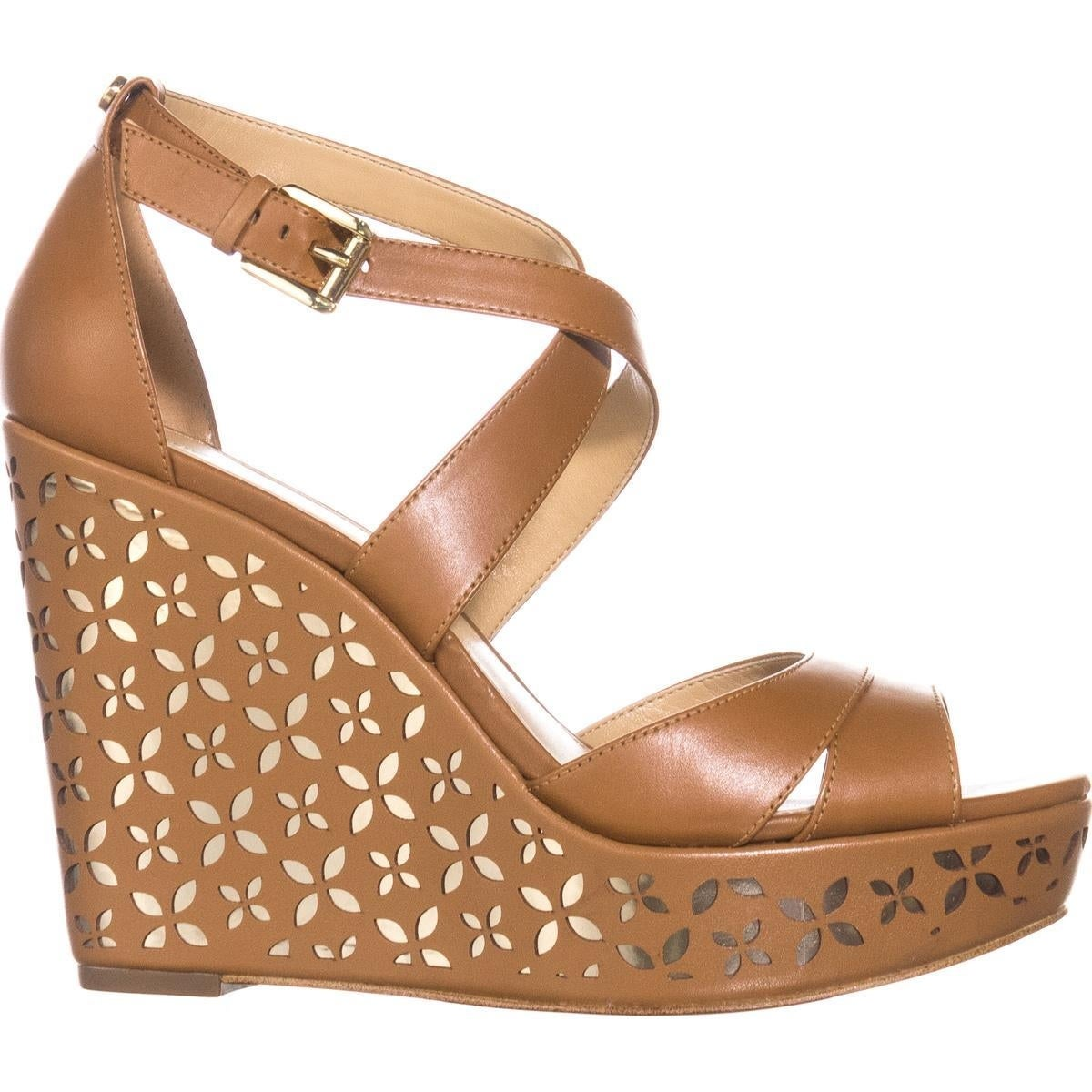 9637c9fa26f Shop MICHAEL Michael Kors Sienna Floral Wedge Sandals