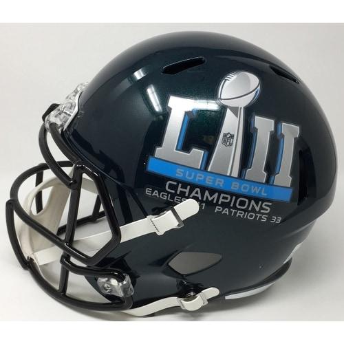 05167508c95 Shop Carson Wentz Signed Eagles Replica SB 52 Helmet Fanatics w/ Glass  Display Case - Free Shipping Today - Overstock - 20697281