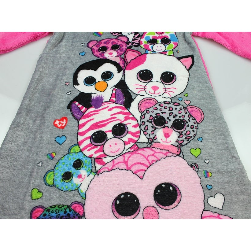 Shop Intimo Girls  Ty Beanie Boo Party Raglan Nightgown - Free Shipping On  Orders Over  45 - Overstock - 19221312 88c8ec645cd