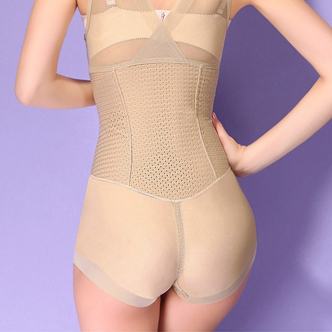 8b3d0bf5bb44d Shop Full Body Tummy Waist Shaping Shapewear Bodysuits Shaper Skin Color  Size XL - On Sale - Free Shipping On Orders Over  45 - Overstock - 17590644