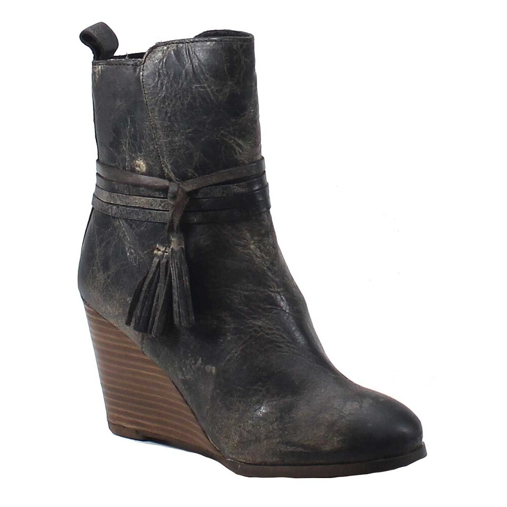 cd64af17ea2 Shop Diba True Barn Storm Wedge Boot - Free Shipping Today - Overstock.com  - 18283810