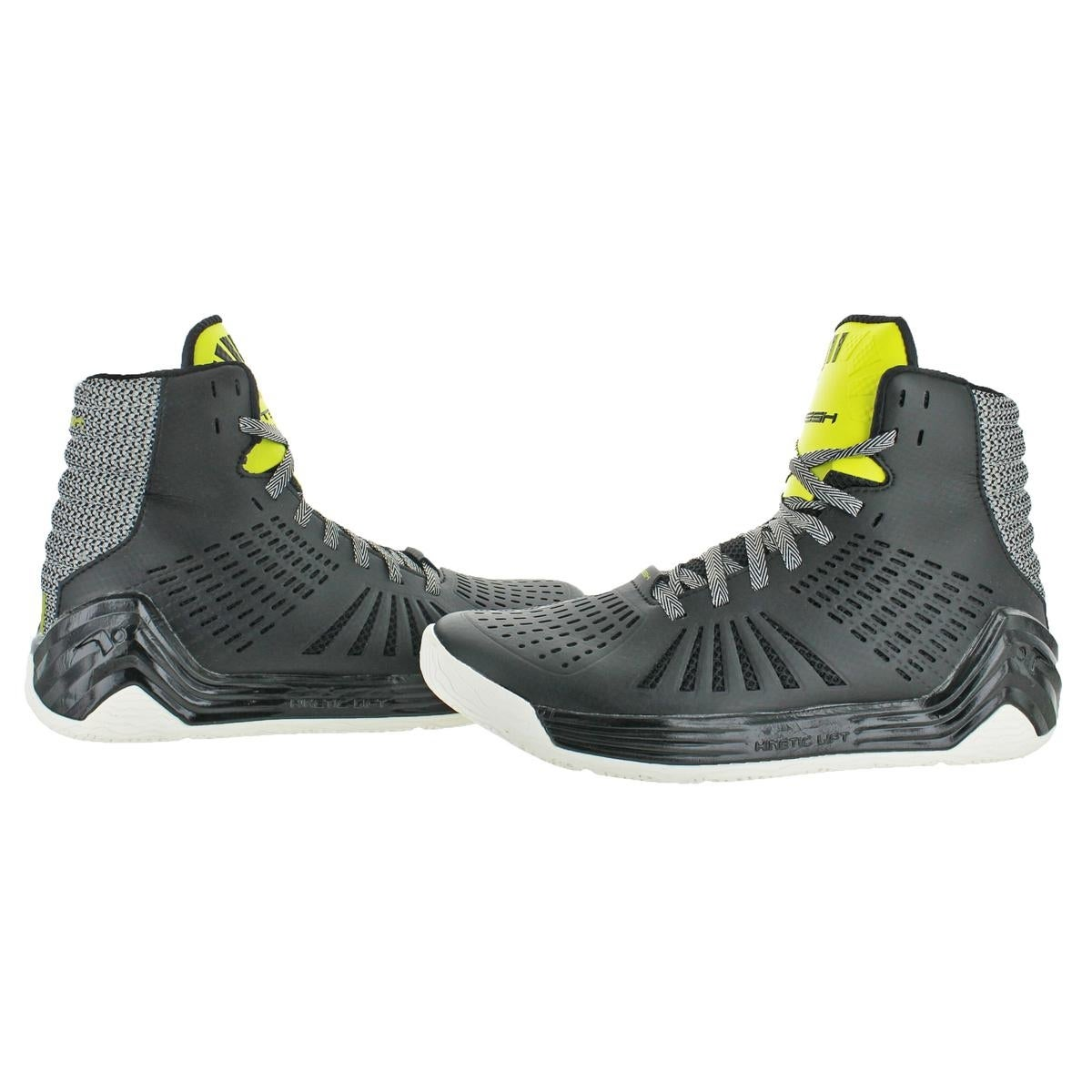 692353d7015 Shop Tesh Mens Trigger Basketball Shoes High Top Perforated - Free Shipping  On Orders Over  45 - Overstock - 22338775