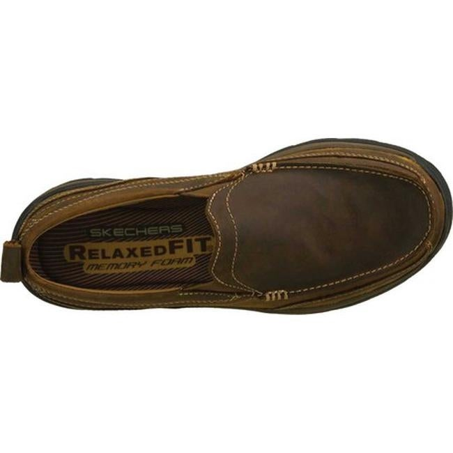 8480805676e4 Shop Skechers Men s Relaxed Fit Superior Gains Brown - Free Shipping Today  - Overstock - 7714622
