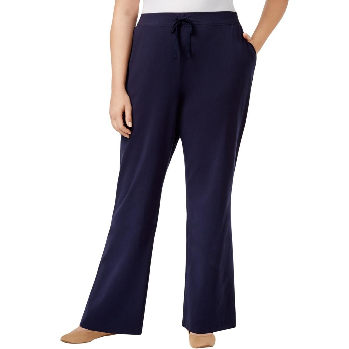 59bfa7cc55ae3 Shop Karen Scott Womens Plus Athletic Pants Fitness Running - Free Shipping  On Orders Over  45 - Overstock.com - 24302164