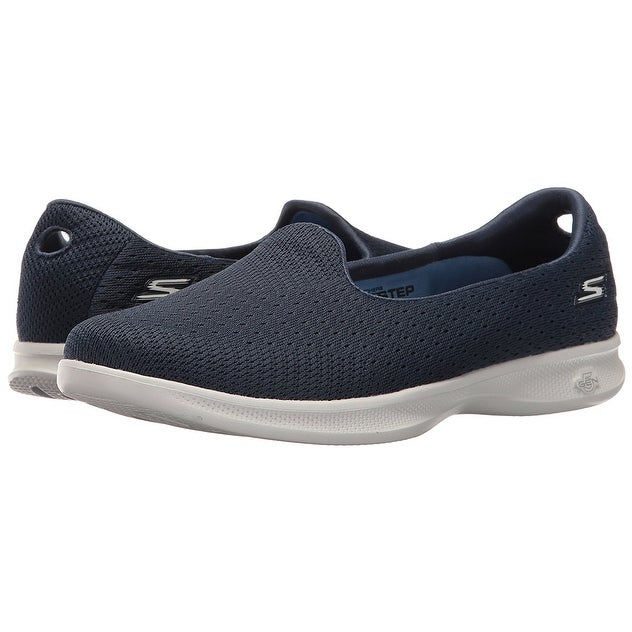 9e5a2687f0 Shop Skechers Performance Women's Go Step Lite-Origin Walking Shoe,  Navy/Gray - Free Shipping Today - Overstock - 18279668