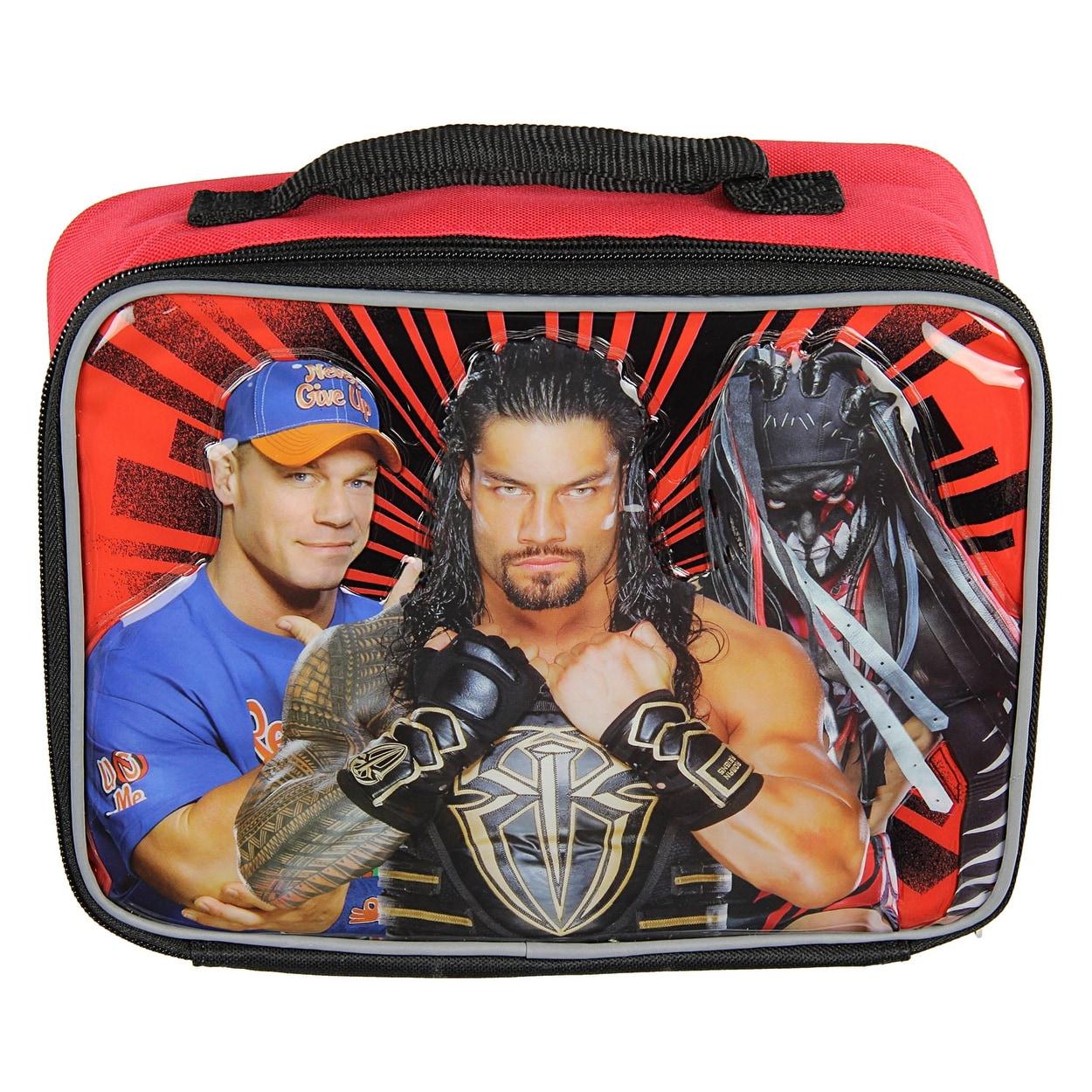 Shop WWE Lunch Box Soft Kit Insulated Cooler Bag John Cena Roman ...