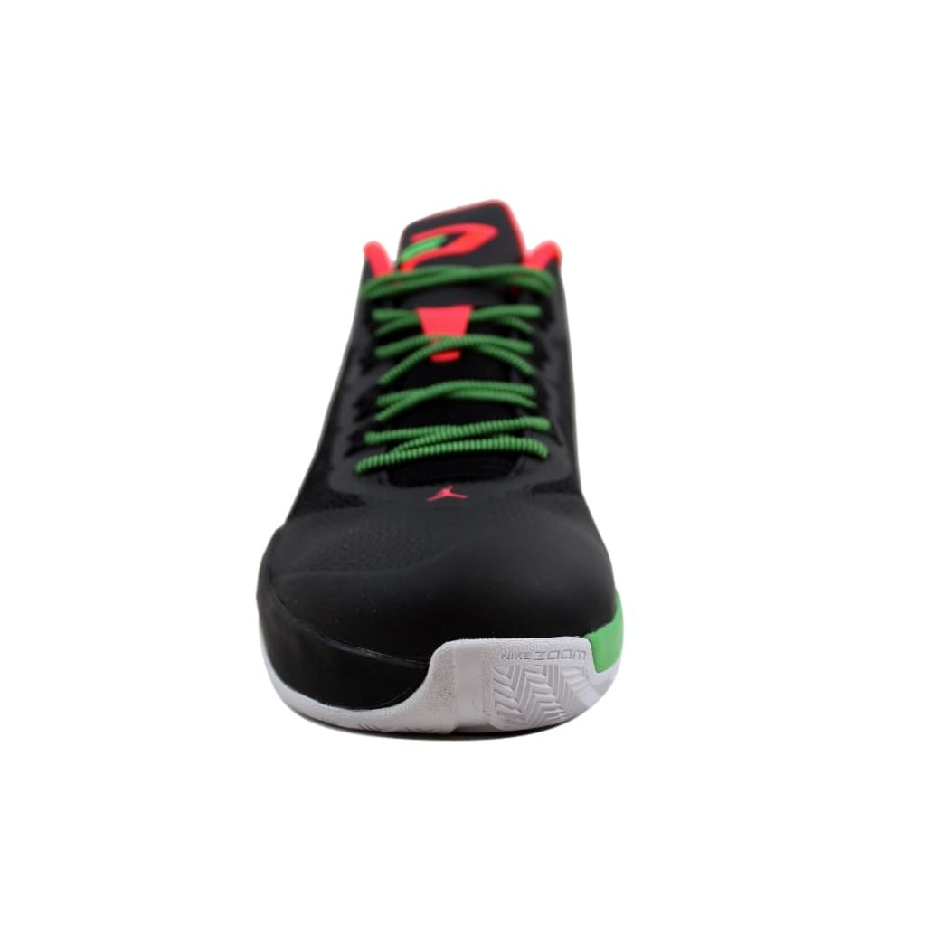ce0311b757def3 Shop Nike Men s Air Jordan CP3 VIII 8 Black Light Green Spark-Dark  Grey-Infrared 684855-035 - On Sale - Free Shipping Today - Overstock -  25637697