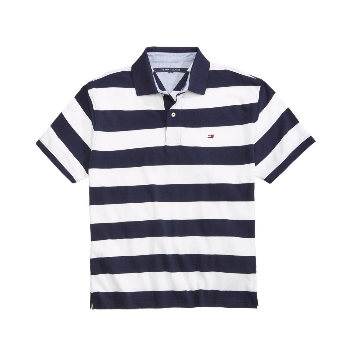5a1a08f088d Shop Tommy Hilfiger Mens Big   Tall Polo Shirt Striped Blazer - Free  Shipping On Orders Over  45 - Overstock - 22358981