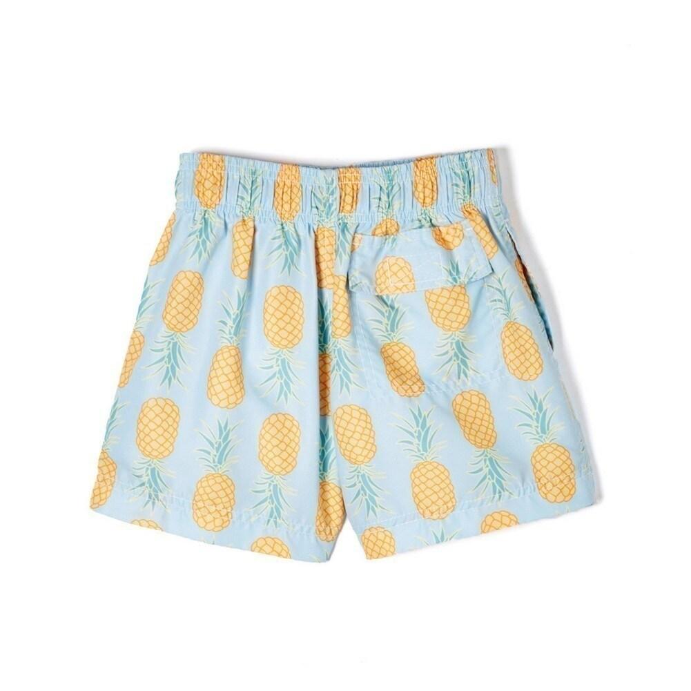 d2d11ca93a Shop Azul Little Boys Light Blue Yellow Pineapple Drawstring Waist Swim  Shorts - Free Shipping Today - Overstock - 18176281
