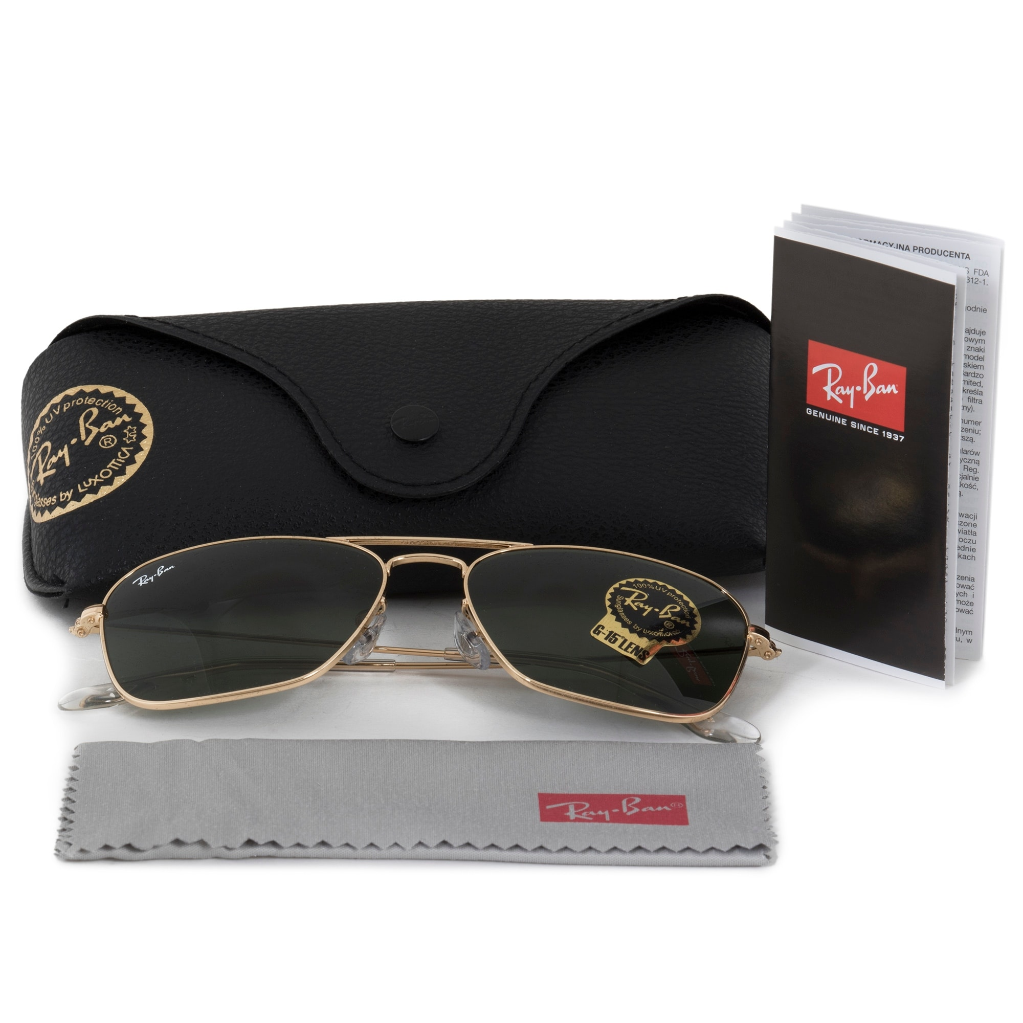 34f9a8c32d Shop Ray-Ban Caravan Sunglasses RB3136 001 55