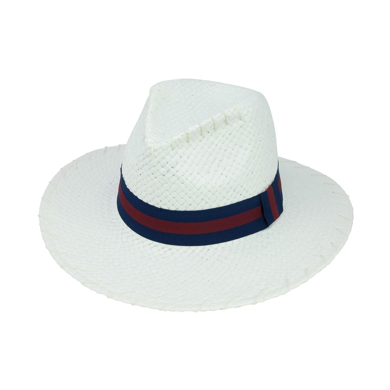 1f2dfc6e0db7d5 Shop ChicHeadwear Womens Lala Paper Hat w/ Stitch - Free Shipping On ...