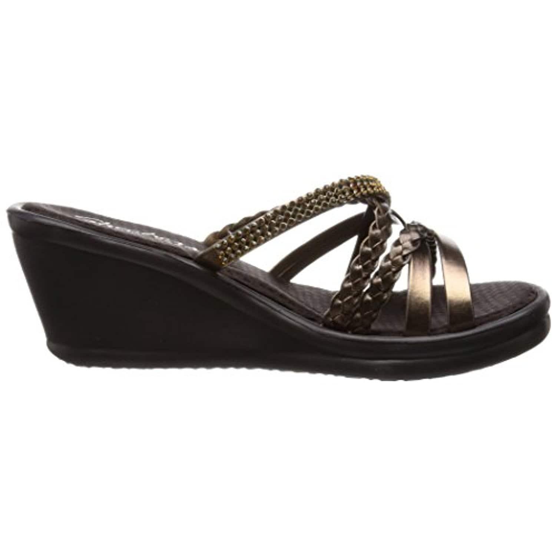 e0e5e7572bf7 Shop Skechers Cali Women s Rumblers-Wild Child Wedge Sandal