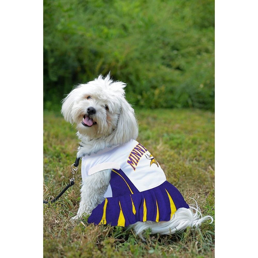 half off 207f0 0ea4a NFL Minnesota Vikings Cheerleader Dress For Dogs And Cats