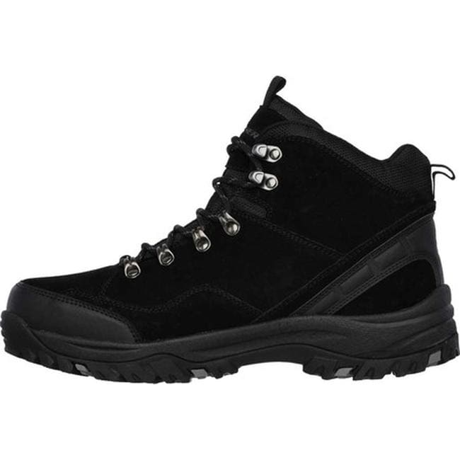 66b50dc2ba6 Skechers Men's Relaxed Fit Relment Pelmo Hiking Boot Black