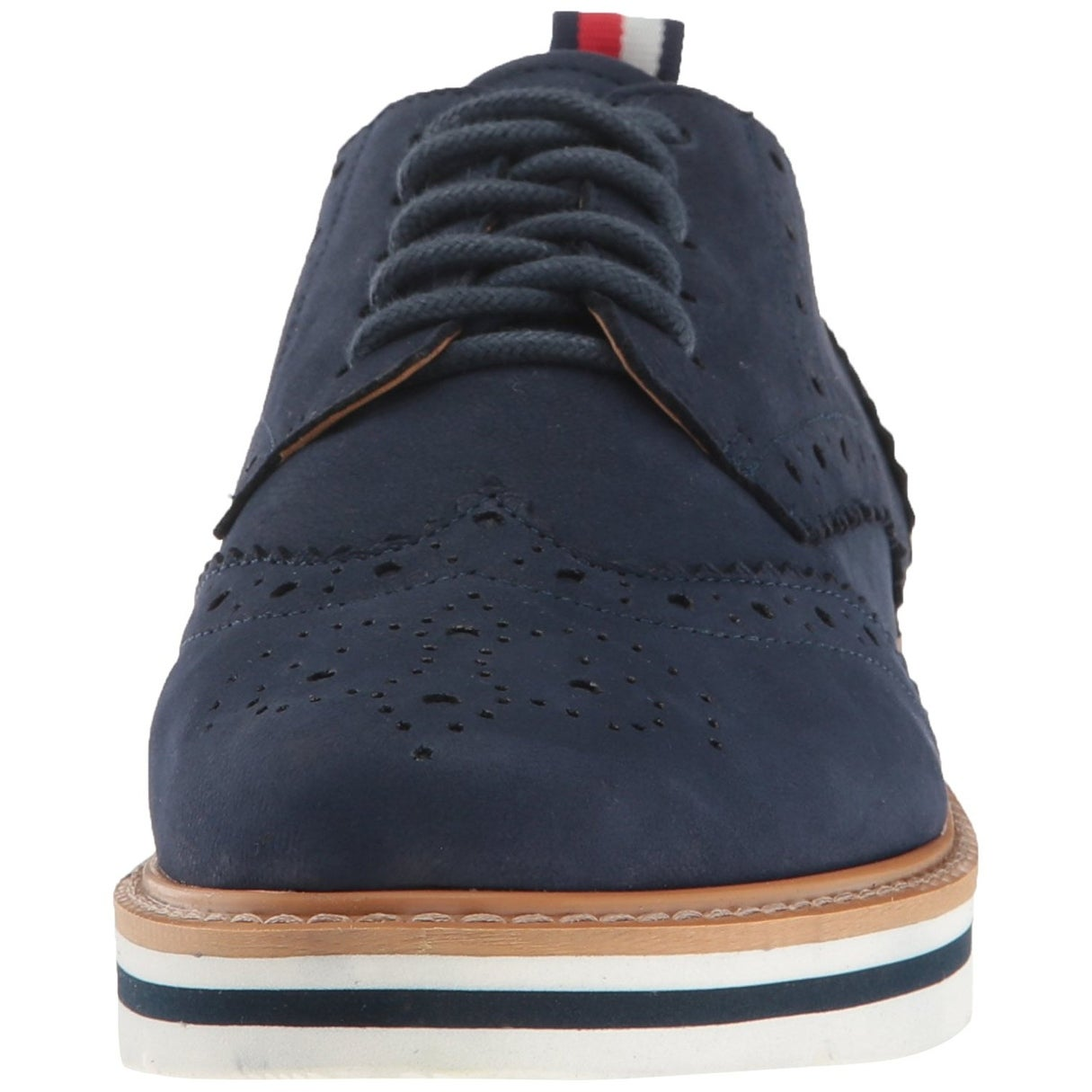 78ab212a5 Shop Tommy Hilfiger Womens Kabriele Leather Closed Toe Oxfords - Free  Shipping Today - Overstock - 19774206