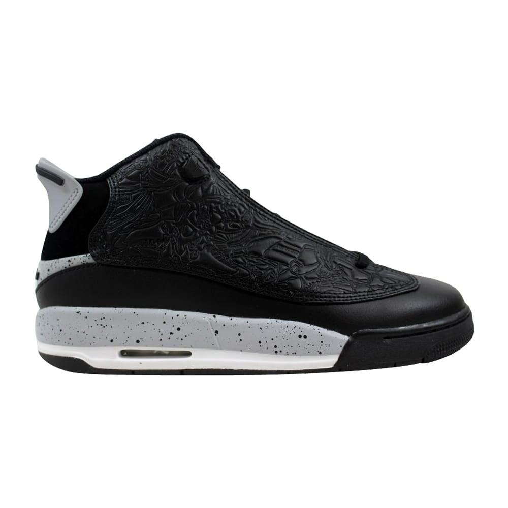 1e4aba0fce Nike Air Jordan Dub Zero BG Black/Wolf Grey-White 311047-002 Grade-School