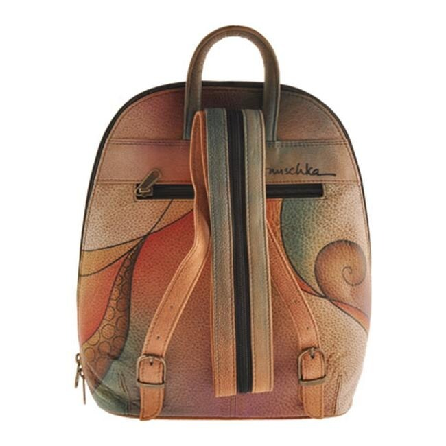 Shop Anuschka Women s Sling-Over Travel Backpack Tribal Bloom - US Women s  One Size (Size None) - Free Shipping Today - Overstock.com - 9271101 1f1cd1c16ea64