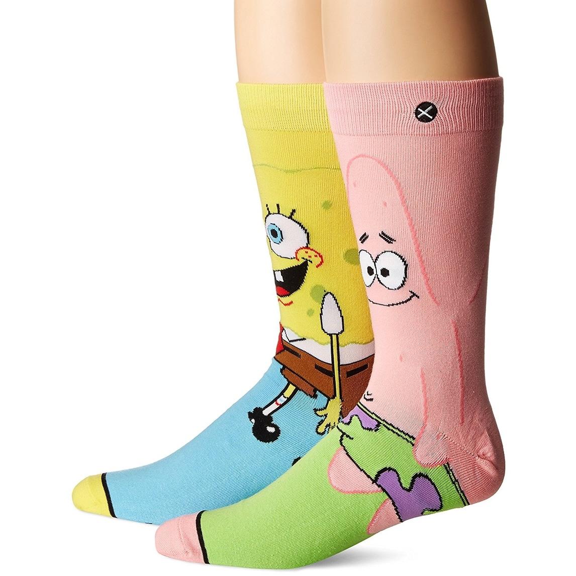 Shop Spongebob Squarepants Patrick Star Socks 6 13 Ships To
