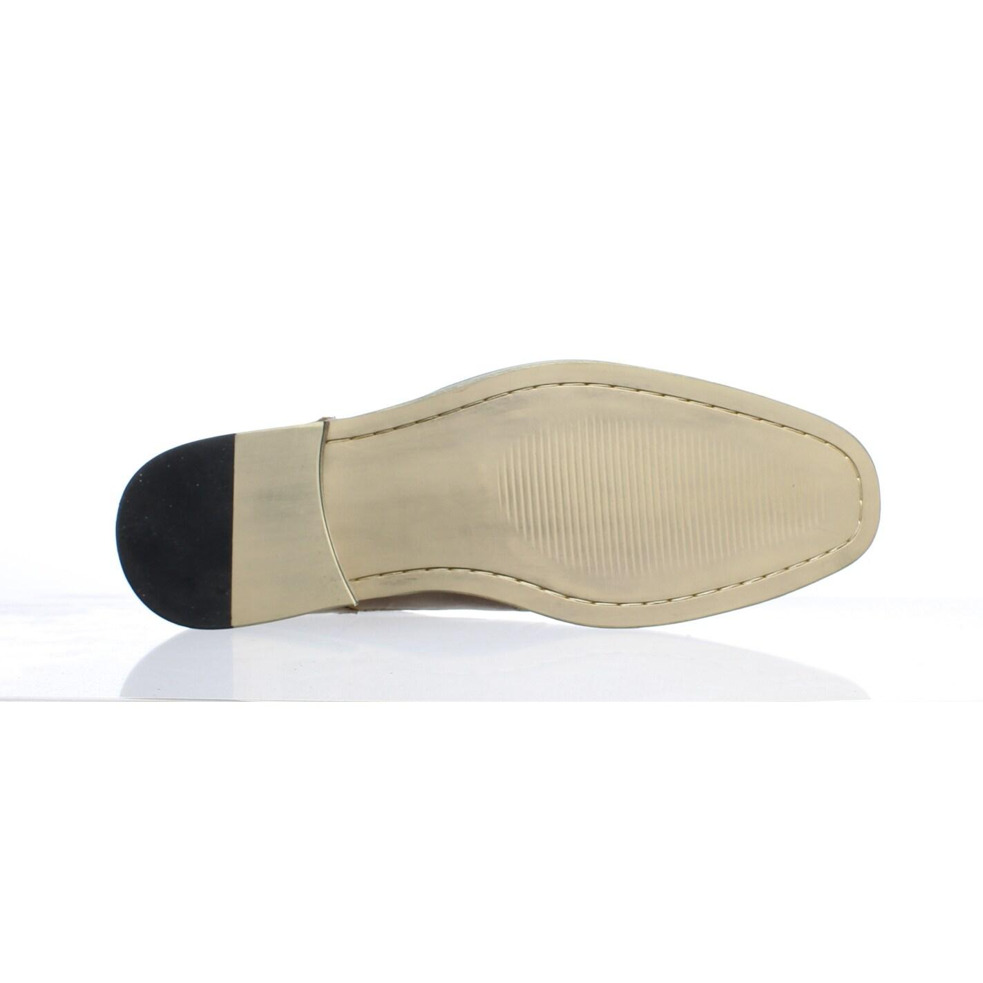 682aeca632f Steve Madden Mens Jagwar Tan Oxford Dress Shoe Size 8.5
