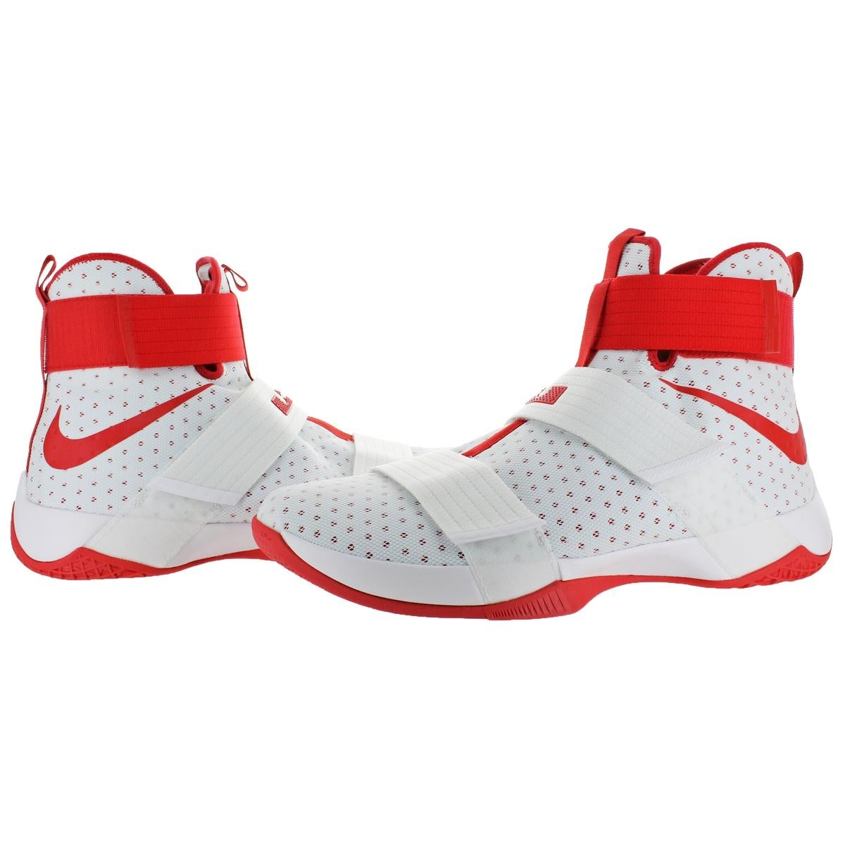 dc0da826f61 hot air max 95 and jordan cheap 9245e 09b3f  release date shop nike lebron  soldier 10 mens mesh high top basketball shoes white size 18