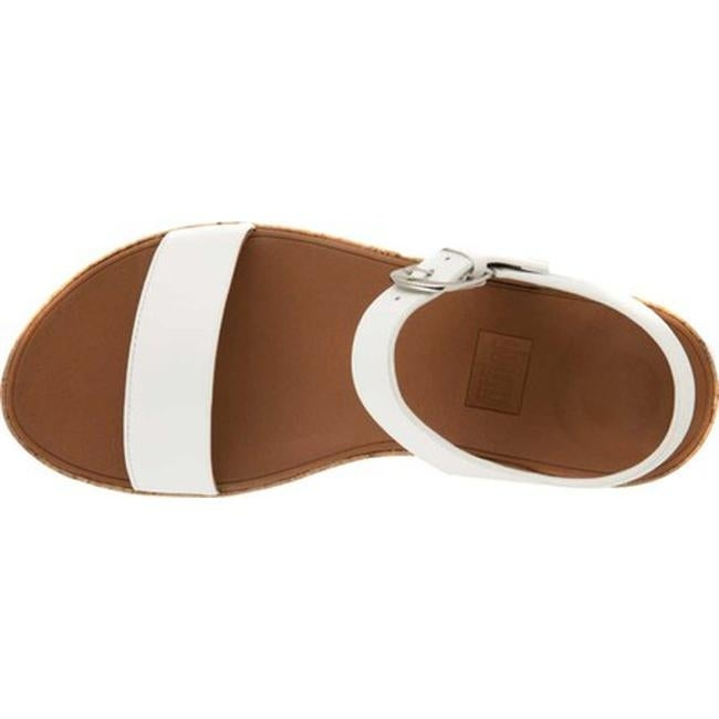 b0af14630 Shop FitFlop Women s Bon II Two Piece Sandal Urban White Leather - Free  Shipping Today - Overstock.com - 20502955