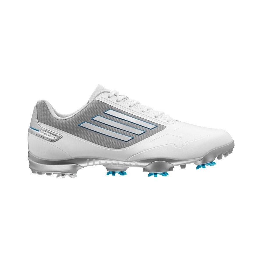 bce11552ab64 Shop Adidas Men s Adizero One White Tech Grey Dark Solar Blue Golf Shoes  Q46801 Q46872 (Medium Width) - Free Shipping Today - Overstock - 19266509