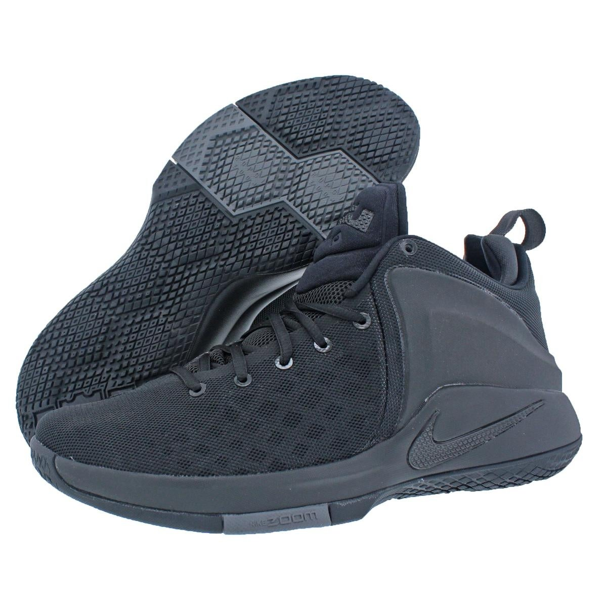 b7c58b8251d Shop Nike Mens Zoom Witness By LeBron James Basketball Shoes Lightweight  Mid-Top - Free Shipping Today - Overstock - 22311432