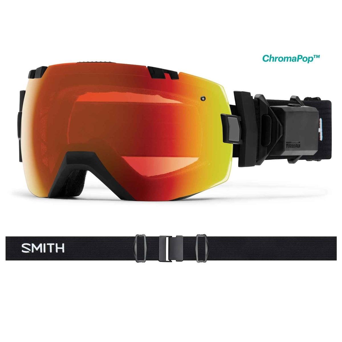 10600aca72 Shop Smith Optics 2017 18 I OX Turbo Fan Goggle - Black Frame ...