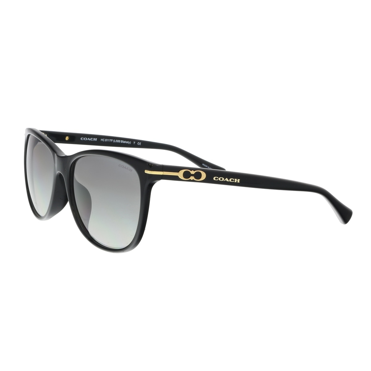 68f55d48cd48 ... spain shop coach hc8117f 500211 black square sunglasses 55 16 135 free  shipping today overstock 19547242