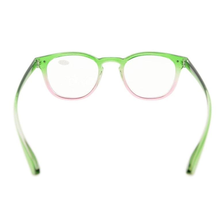 432abd9d3d0 Shop Eyekepper Fashion Readers Womens Reading Glasses (Green-Pink Frame