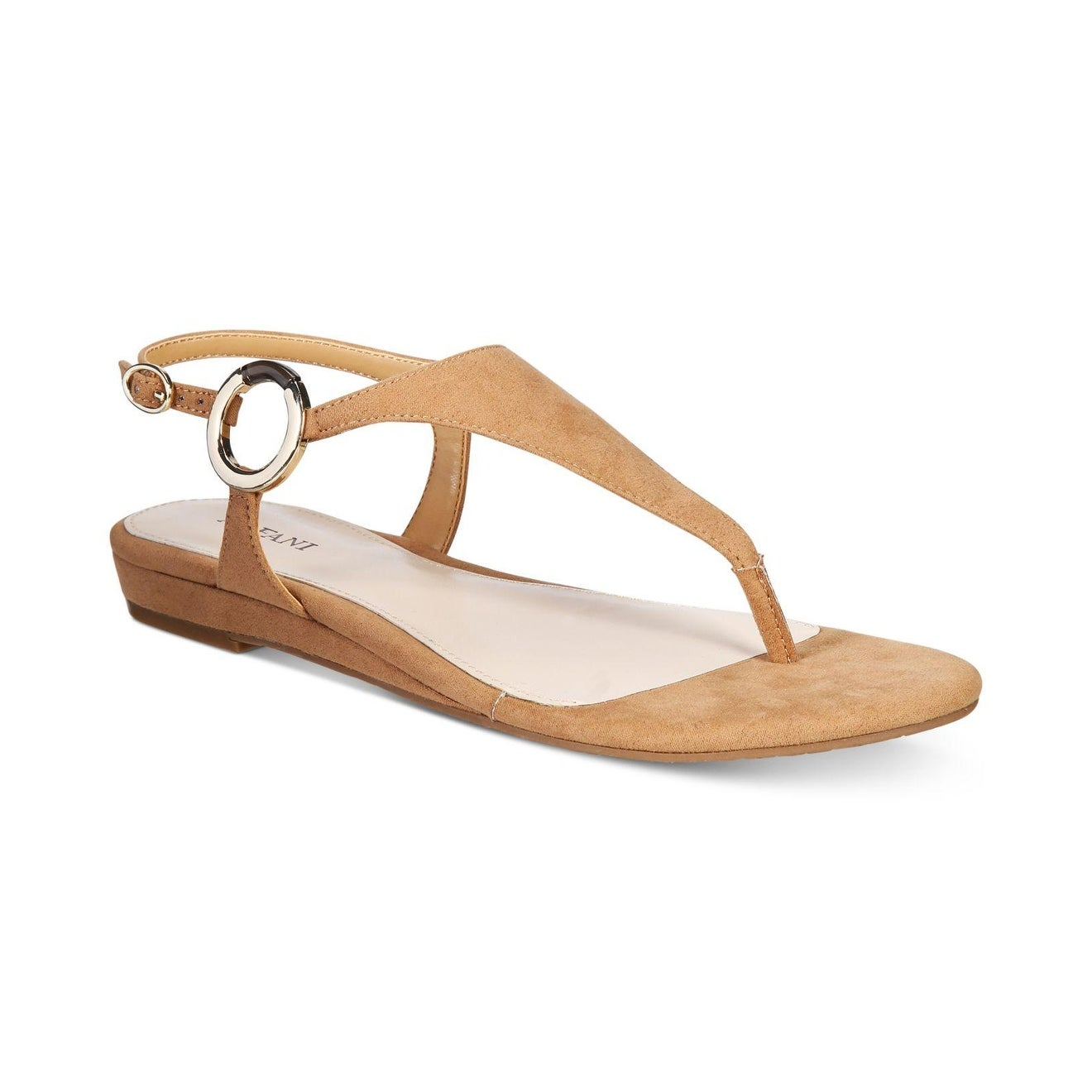 6fe84b0be6fb2 Shop Alfani Womens Honnee Open Toe Casual Ankle Strap Sandals - Free ...