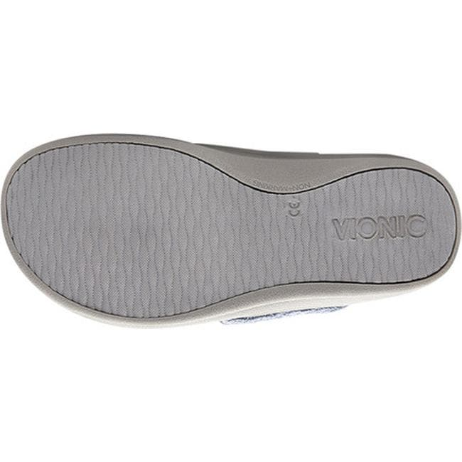 0430ce375a6 Shop Vionic Women s Gracie Thong Slipper Light Blue Textile - On Sale -  Free Shipping Today - Overstock - 26969807