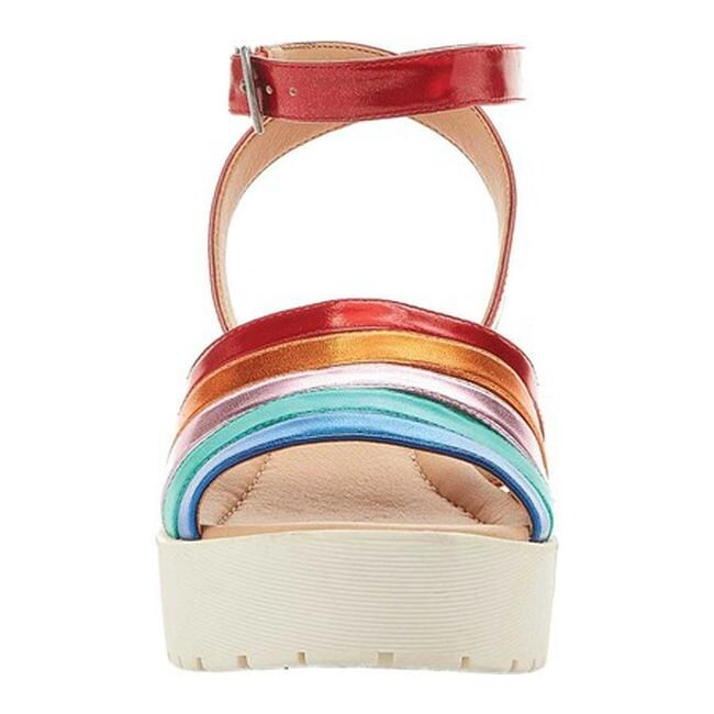 c931eac7817 Shop Rocket Dog Women s Simm Platform Sandal Rainbow Shimmy Multi PU - Free  Shipping Today - Overstock - 20268934