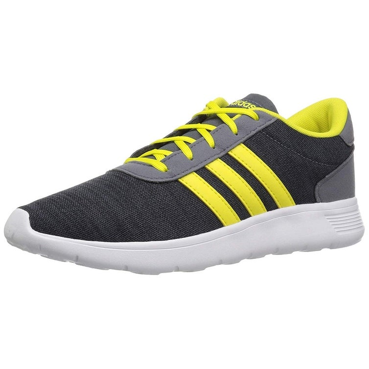 newest 06856 fc174 Shop Adidas Boys Lite Racer K Sneaker, Kids, Carbon Shovel Onix, 1 M Us - 1  M US - Free Shipping Today - Overstock - 27366563