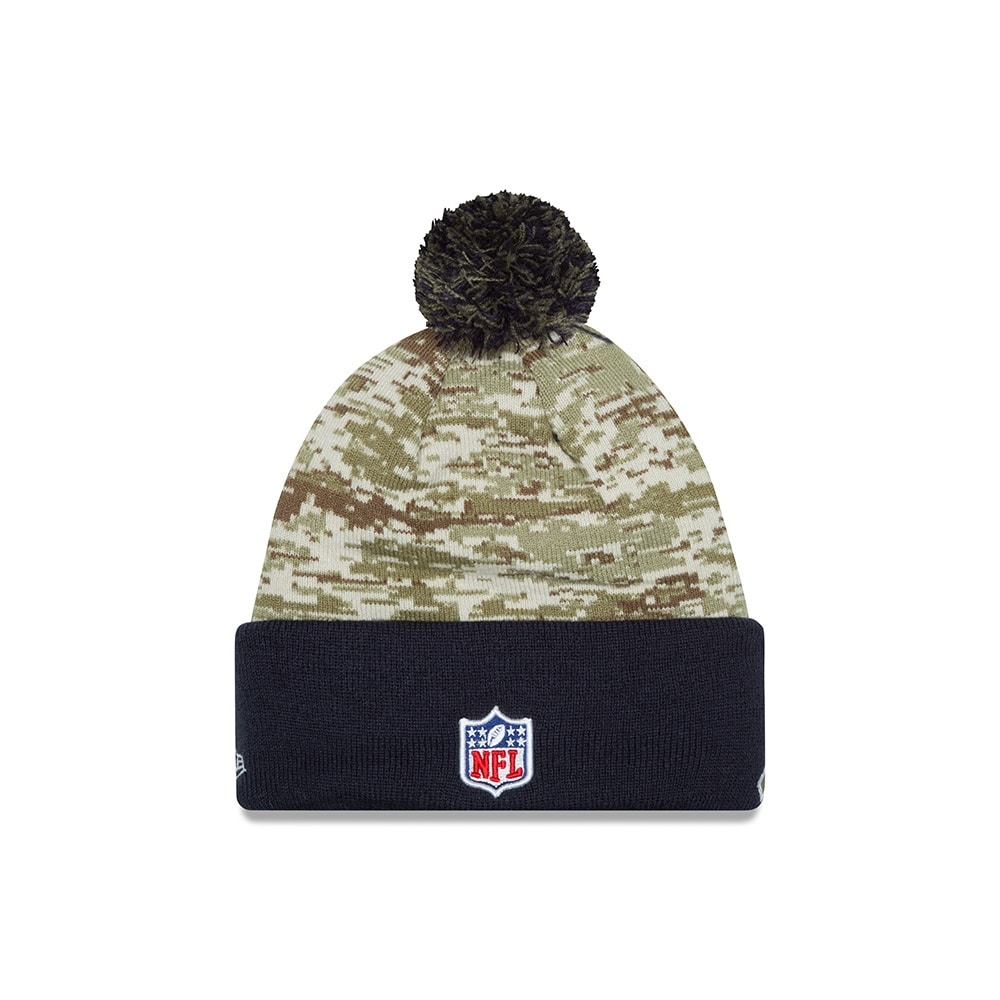 9ceaeb5db Shop New Era Chicago Bears Salute to Service Sport Knit Hat - Free Shipping  On Orders Over  45 - Overstock - 18681480