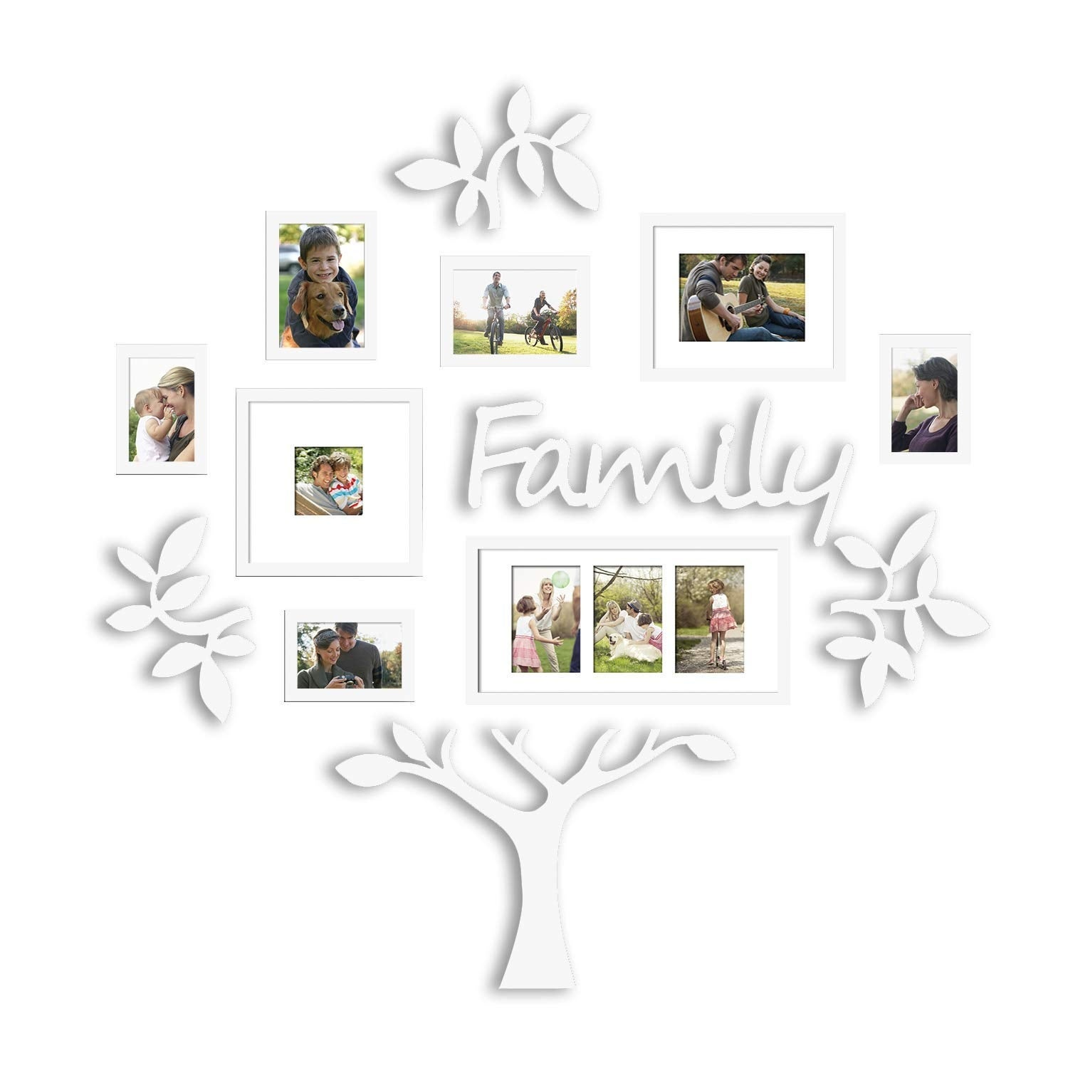 Shop Hello Laura Family Tree Photo Frame Set College Photo Frame
