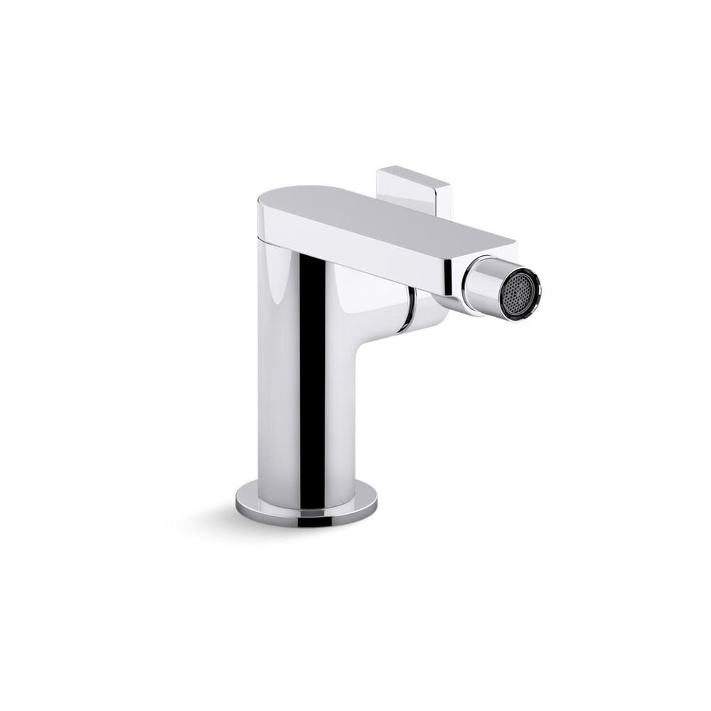 Shop Kohler K 73176 4 Composed 1 5 Gpm Single Handle Bidet Faucet
