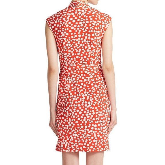 573916d7903 Shop Eliza J NEW Red Women Size 18W Plus Dotted Jersey Knit Faux-Wrap Dress  - Free Shipping Today - Overstock - 20304354