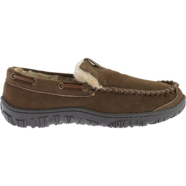 03a42deb154 Clarks Men's Venetian Moccasin Slipper Brown Leather