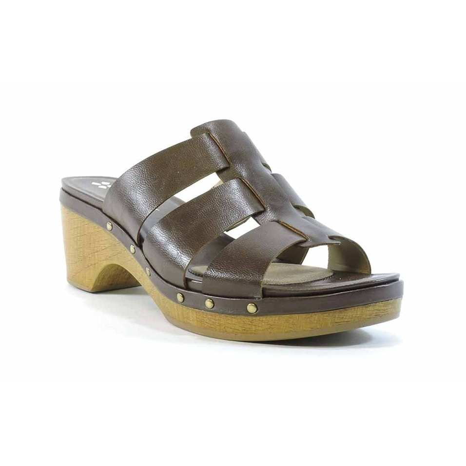 8e6c5e75b05f Shop Naturalizer Womens GRAMERCY Open Toe Casual Mule Sandals - Free  Shipping On Orders Over  45 - Overstock.com - 18424819
