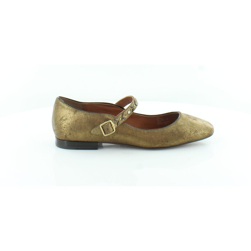 Shop Coach MaryJane PRRVT Women s FLATS Gold - Free Shipping Today -  Overstock - 25626219