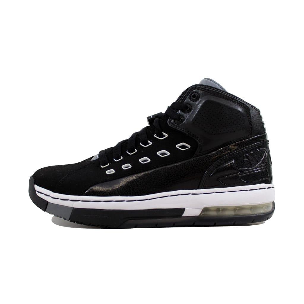 premium selection 54e4b a2bc8 Shop Nike Men s Air Jordan Ol School Black White-Cool Grey 317223-013 -  Free Shipping Today - Overstock - 21893508