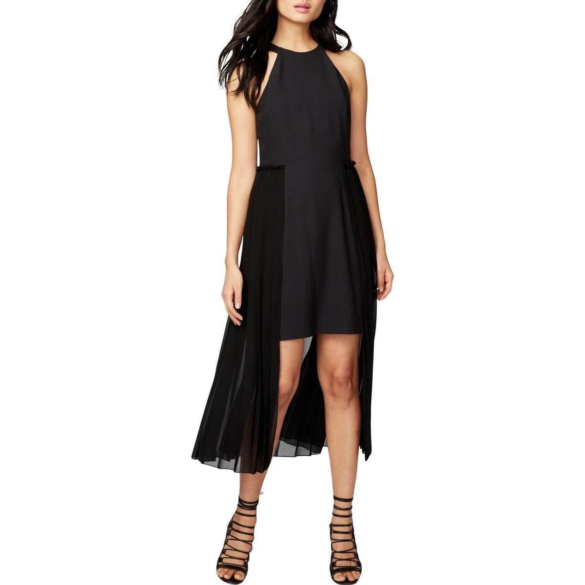 319e888076a Shop Rachel Rachel Roy Womens Party Dress Pleated Chiffon Overlay ...