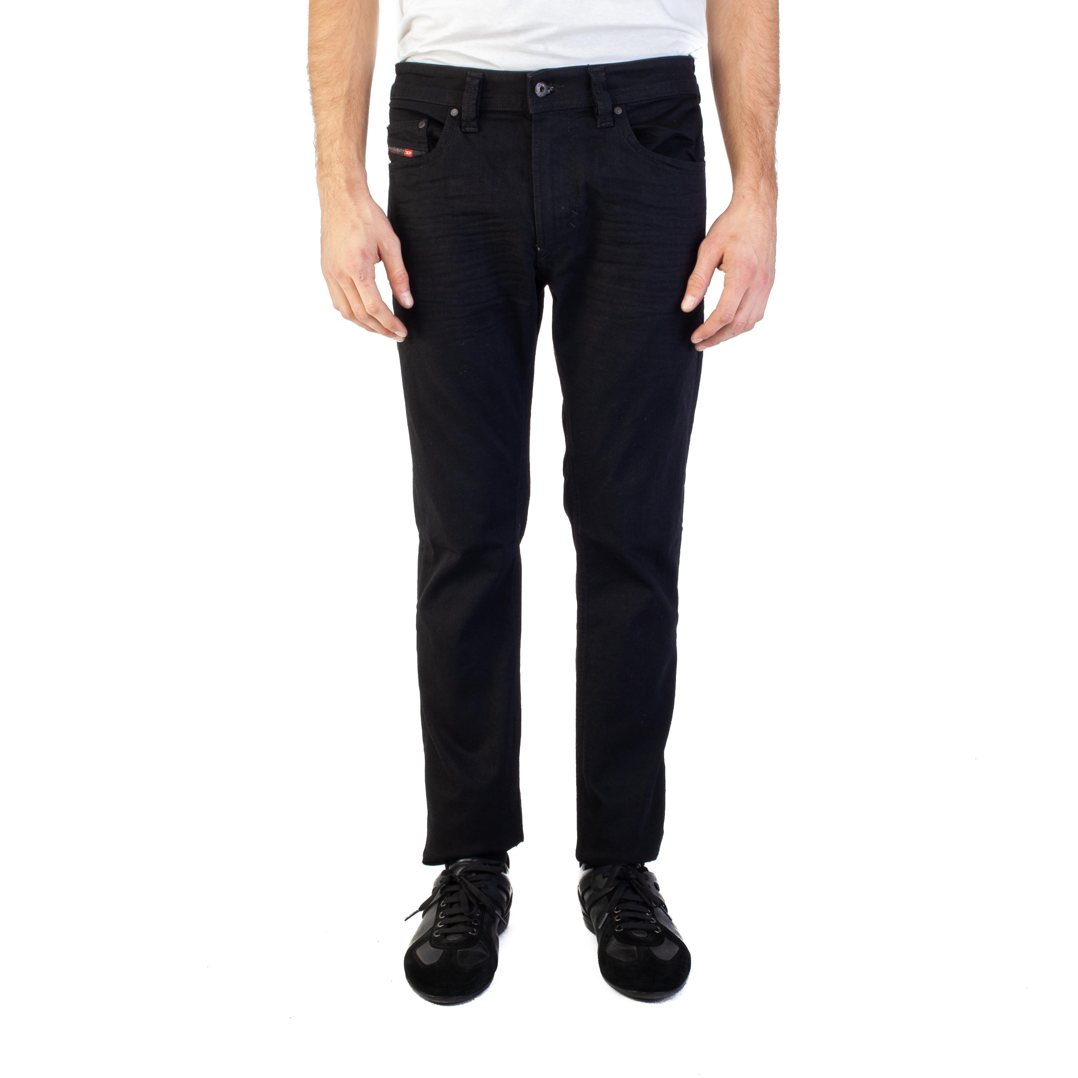 3eed406545a Shop Diesel Men s Slim-Skinny Fit Thavar 0R84A Stretch Jean Pants ...