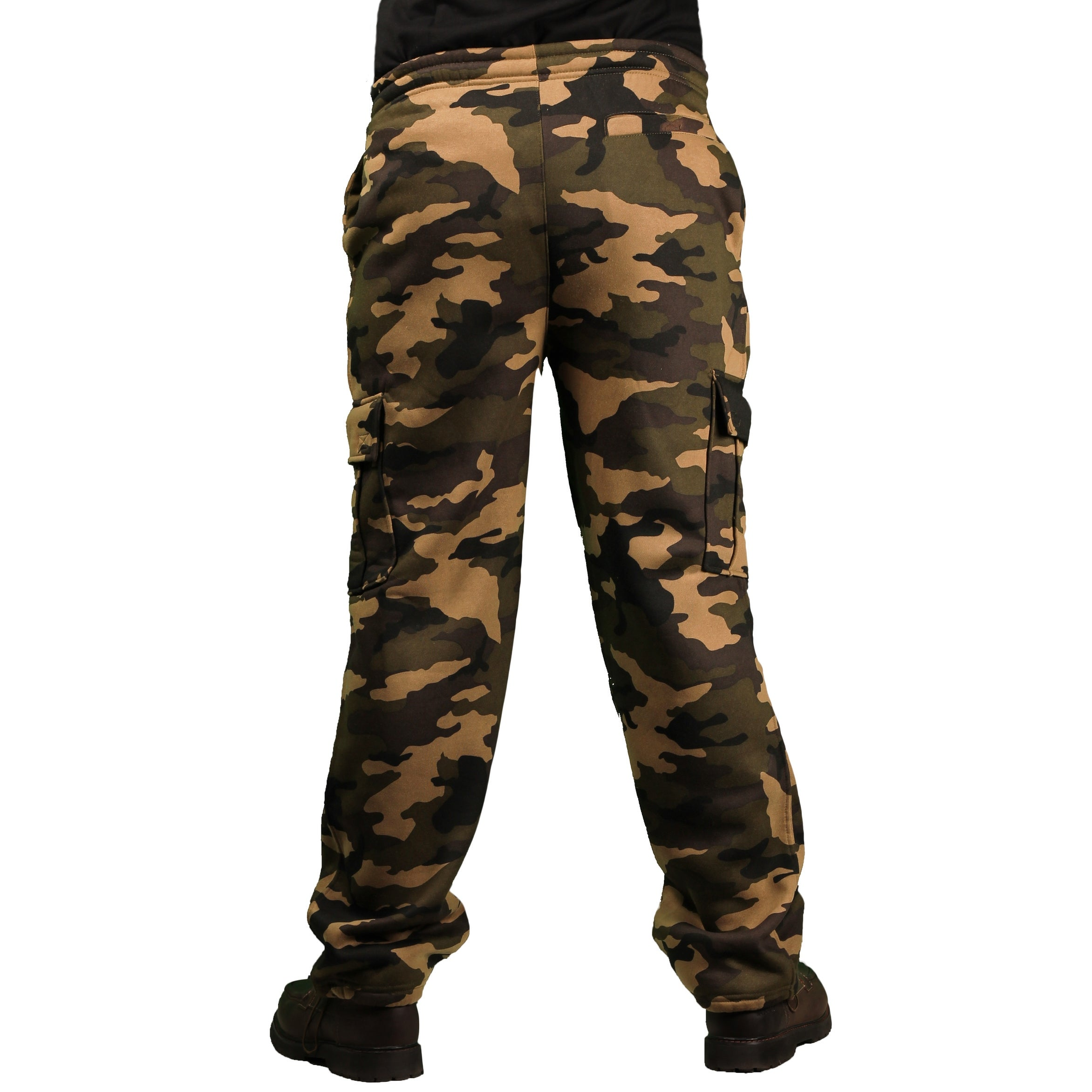 670021d022 Shop PJ Mark Men's Heavy Fleece Camouflage Cargo Pant - Free Shipping On  Orders Over $45 - Overstock - 14780934