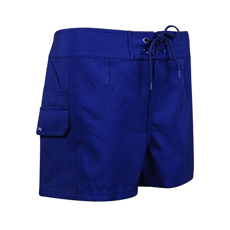 b1f918d2d3 Shop Jag Women's Solid Cargo Laced Board Shorts - Free Shipping On Orders  Over $45 - Overstock - 15094185