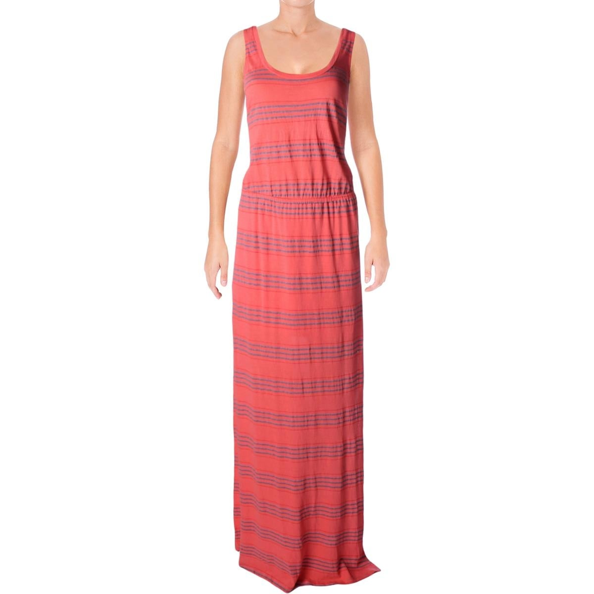 009d93d3aa9 Shop Splendid Womens Tank Dress Striped Maxi - Free Shipping On Orders Over   45 - Overstock - 17032710